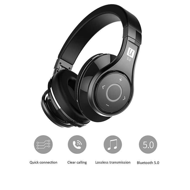 7adef2ff40b ... Bluedio U(UFO)2 High-End Bluetooth headphone Patented 8 Drivers HiFi  wireless ...