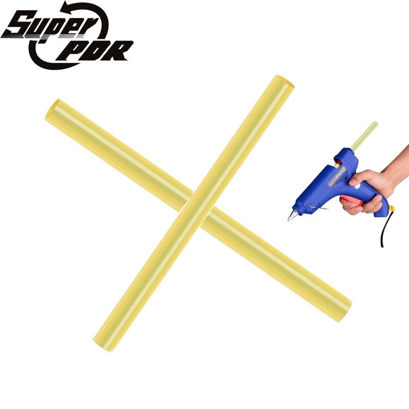 цена на 2Pcs Best Super PDR Hot Melt Glue Sticks For Electric Glue Gun 17 cm Hot Adhesive Glue Sticks Dent Repair Tools For Heat Gluegun