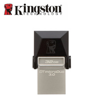 Kingston USB Flash Drive 16gb 32gb 64gb USB3.zero Flash Reminiscence Stick OTG Duo Pendrive Micro usb Memoria Disk For Android Smartphone