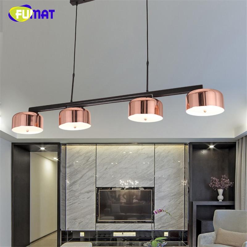 Fumat Modern Designer Rose Gold Lamps Indoor Lightings Led
