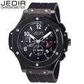 JEDIR Men's Mult-function Sport Watch Silicone Watch Top Brand Military Watch Relogio Masculino Gift Box Free Ship