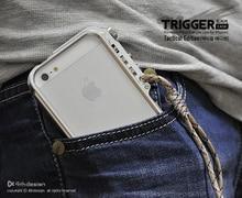 Вызвать металлический бампер для iPhone 5 5S se 4 4S M2 4th дизайн премиум авиационного алюминия, бампер для iPhone 5 SE Тактический издание