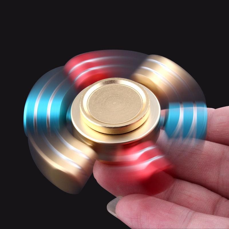 ⑧EDC New Version 6 Edge Form Hand Spinner Metal Fid Spinner Feel