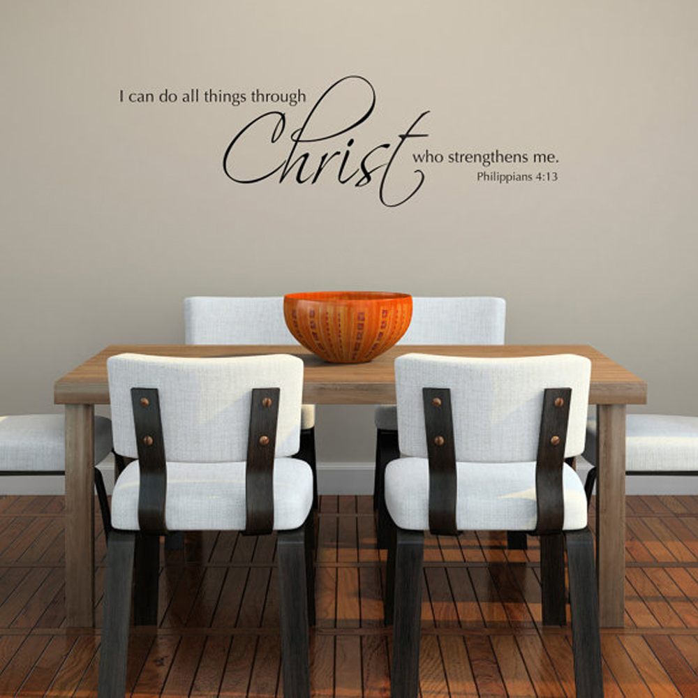 Comparar Precios En Philippians 4 13 Decal Online Shopping  # Muebles Filipenses