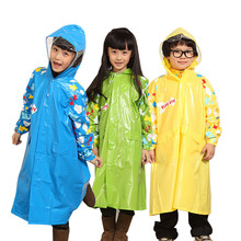 Burberry eco friendly child ponchos raincoat boys girls parent child set student school bag long rain