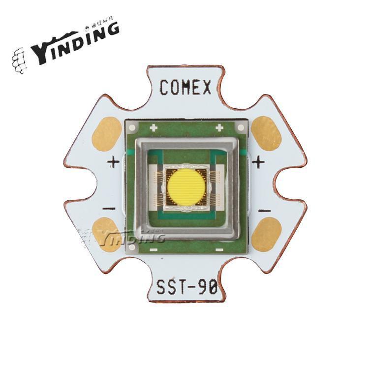 1 pièces LUMINUS SBT-70 blanc froid/Nature blanc/blanc chaud/rouge 40 w haute puissance lampe à LED perle lumière de scène projecteur source de lumière