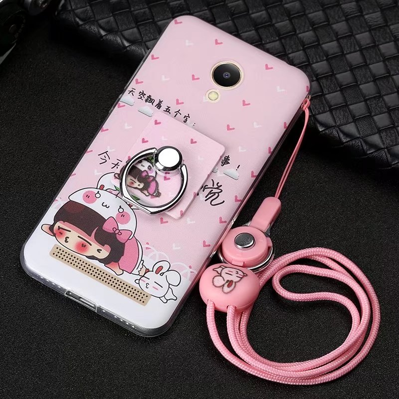 New Fashion Cute 3D Cartoon Pattern Painted Soft TPU Protective Cases For Qiku <font><b>360</b></font> F5 <font><b>Phone</b></font> <font><b>Cover</b></font> With Ring 5.0&#8243; Fundas Para