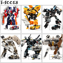 Hot Plastic Kids Transformation Toys g1 Brinquedos Deformation Robot Car Action Figures Classic Toys for Boys