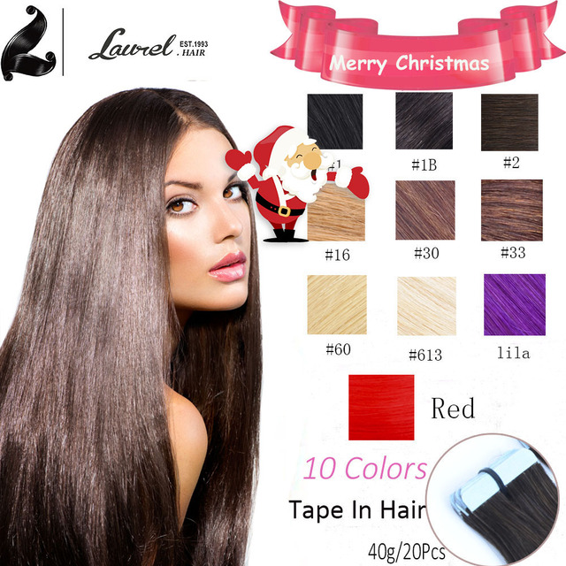 Skin Weft Hair Extensions Hip Length 24inch 20pcs50gg Silky