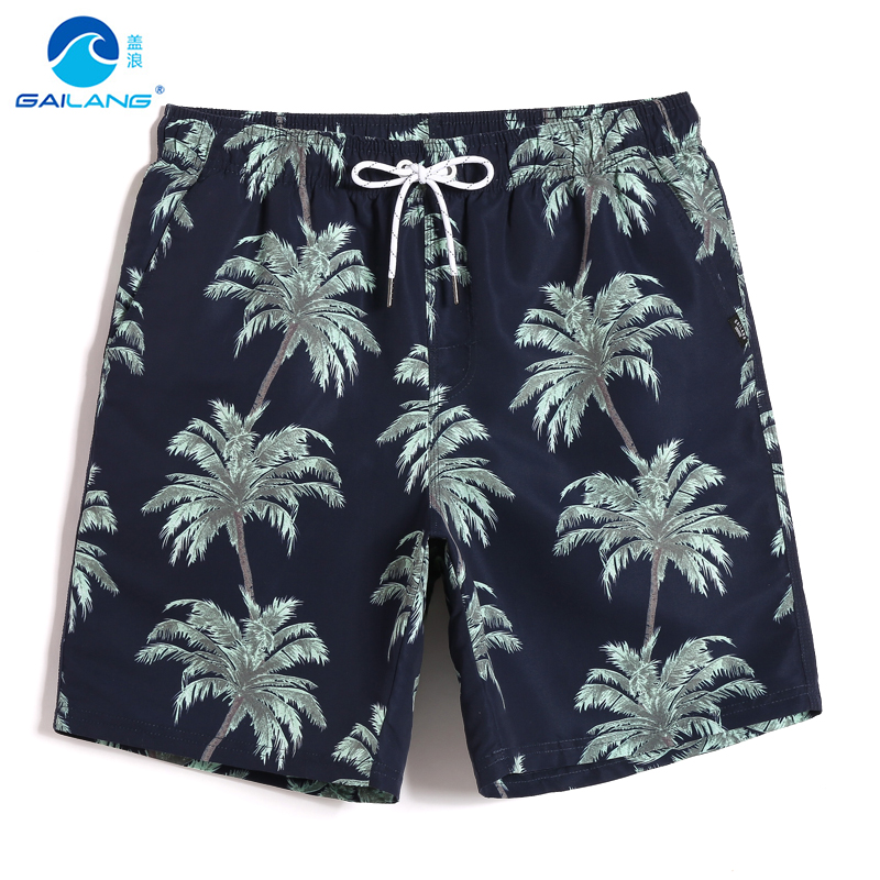 Summer Men's bathing suit   board     shorts   quick dry hawaiian bermudas swimsuit joggers beach   shorts   plavky liner swimwear mesh