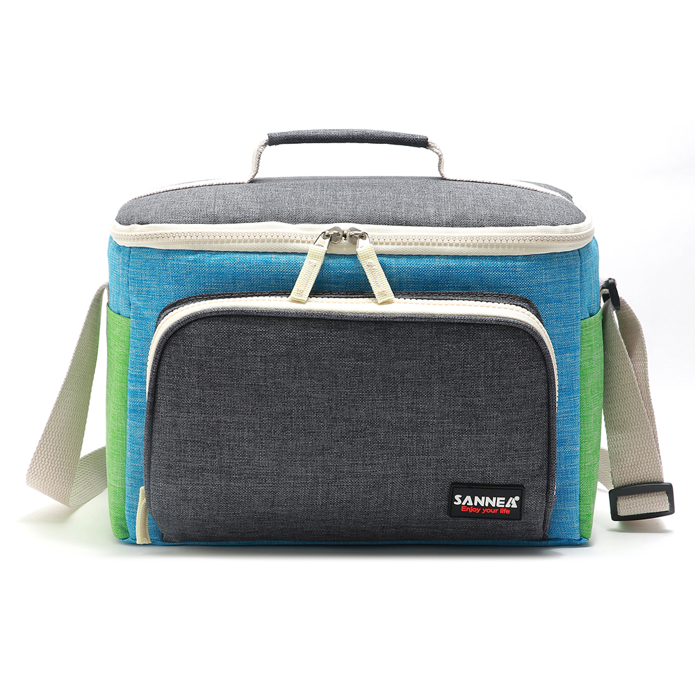 9L Lunch Bag Kid Camping Outdoor Thermos Portable Travel Shoulder Recreation Cooler Insulated Thermal Tourism Picnic Bag Child in Picnic Bags from Sports Entertainment