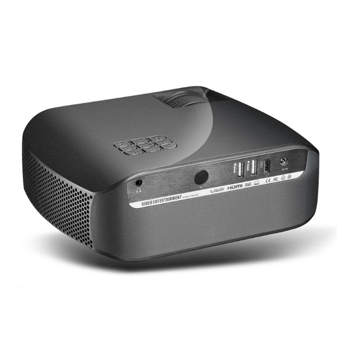 Proyector Vivibright F10 LCD 2800 lúmenes 1280*720P 3D Proyector HDMI USB Proyector soporte 23 idiomas altavoz Home Theater - 4