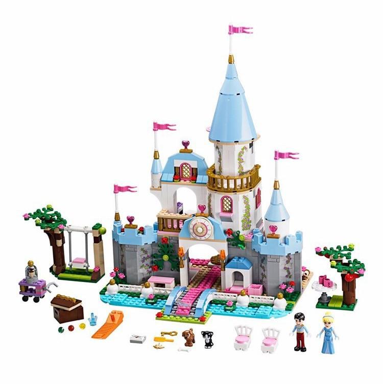 41055 Cinderella Romantic Castle Building Blocks Princess Frs