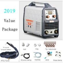 Плазменный станок для резки LGK40 CUT50 220V напряжение плазменный резак с PT31 Сварка аксессуары качество