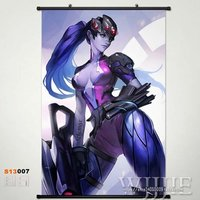Japan Anime Game Overwatch OW Home Decor Poster Wall Scroll Widowmake S13007 60*90