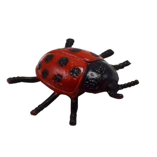 1/5/10 piezas Mini plástico simulación insectos mariquita Halloween ...