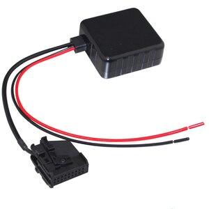Image 5 - SITAILE voiture Bluetooth Module Radio stéréo Aux adaptateur de câble avec filtre sans fil entrée Audio pour VW MFD2 RNS RNS2