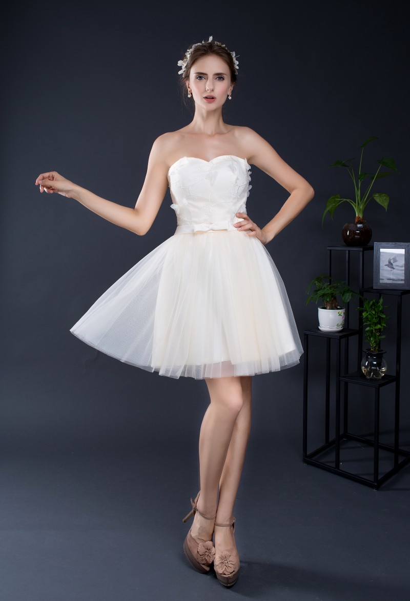 Factory cheap simple sweetheart a line mini dresses bows applique factory cheap simple sweetheart a line mini dresses bows applique lace up bridesmaid dresses formal short party gowns in stock in bridesmaid dresses from ombrellifo Choice Image