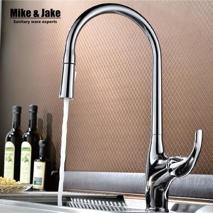 ФОТО 2016 pull out kitchen faucet Sink crane spray lacquer pull down kitchen faucet kitchen tap mixer tap torneira cozinha
