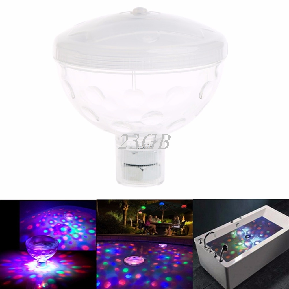 Underwater Floating Light Water Lamp 4LED Show Swimming Pool Garden Xmas Party M02