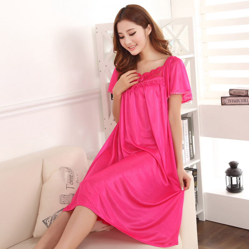 Online Get Cheap Long Silk Nightgown -Aliexpress.com | Alibaba Group