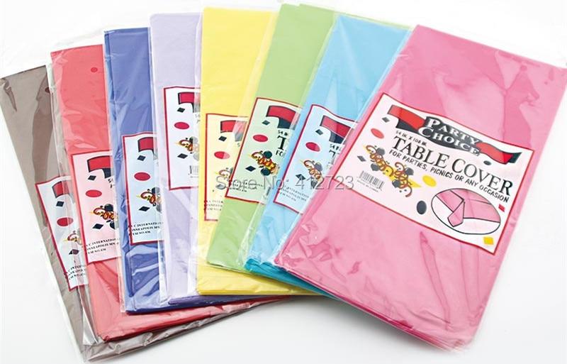 Online Get Cheap Plastic Party Tablecloth Aliexpress Com