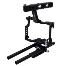 Veledge Vd-07 Rod Rig Dslr Camera Video Cage Kit Stabilizer
