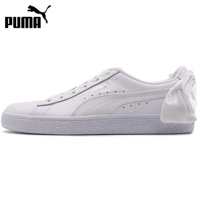 50b1d8b7ef6 Original New Arrival 2018 PUMA Basket Bow Women s Skateboarding Shoes  Sneakers