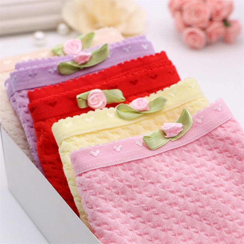 2pcs/lot 2018 New Fashion Children Panties Girls' Briefs Female Child Underwear Lovely Cotton Panties Children Clothing