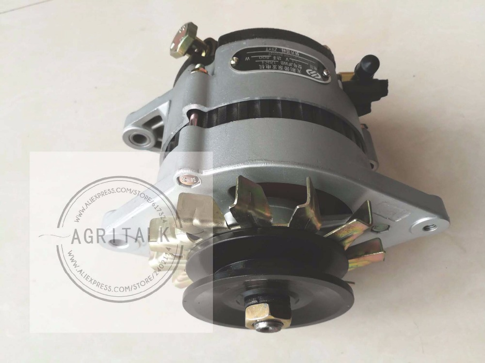 Yituo Yangdong YSD490ZLD for generator set parts, the alternator, part number: the crankshaft with set of main bearing rod bearing and thrust ring for yangdong ynd485q ynd485t part number