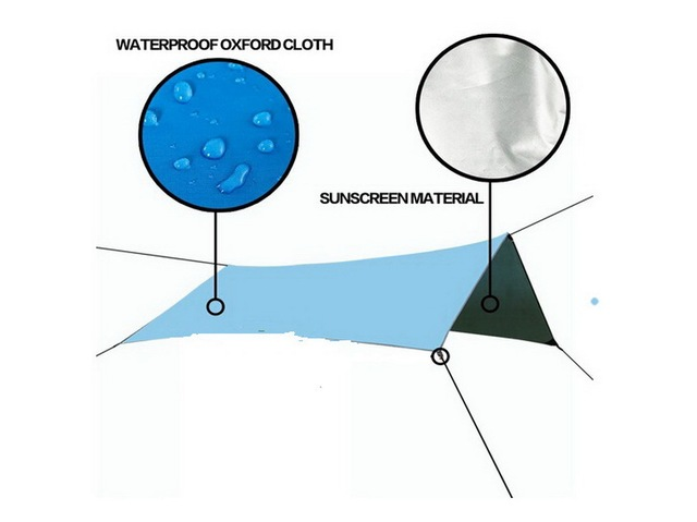 Outdoor survival ater resistant Oxford cloth corners Tent Tarps Picnic,Beach,Traveling,Camping,Hiking,Foldable Picnic mats