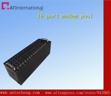 GSM GPRS 16 port modem pool Q24plus tcp ip bulk sms sending modem
