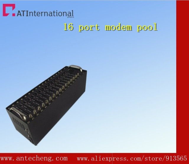 GSM/GPRS 16 port modem pool Q24plus tcp/ip bulk sms sending modem