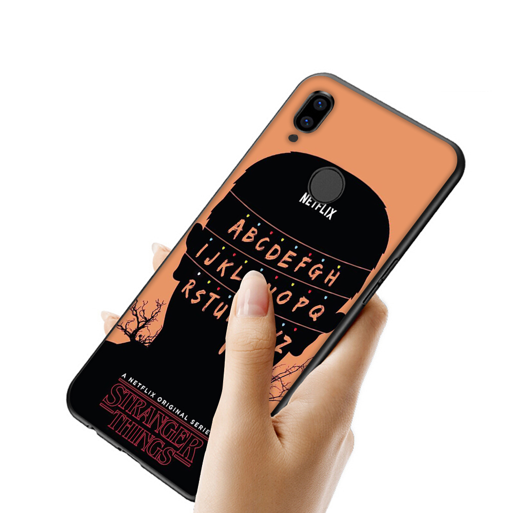 WEBBEDEPP Stranger Things tv TPU Cover for Xiaomi Mi 6 8 9 SE A1 A2 Lite Mix 2s Max 3 for POCOPHONE F1 Soft Case in Fitted Cases from Cellphones Telecommunications