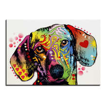 Large Dachshund Canvas Print
