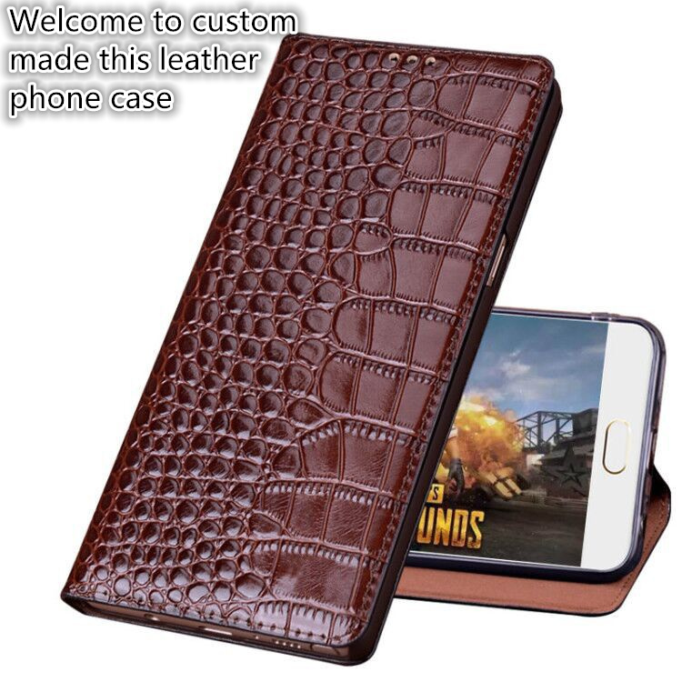 Genuine leather flip cover with kickstand for <font><b>Motorola</b></font> <font><b>Moto</b></font> M <font><b>XT1663</b></font> phone <font><b>case</b></font> for <font><b>Motorola</b></font> <font><b>Moto</b></font> M leather <font><b>case</b></font> funda image