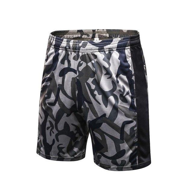 Pantalon Corto Running Para Hombre Mallas Cortas Compresión Secado Rápido Short ajgRx