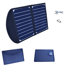 лучшая цена Xinpuguang 10W 5V Foldable Solar Panel Portable Folding Solar Charger Dual USB Output for Phone Laptop Tablets Outdoor Camping