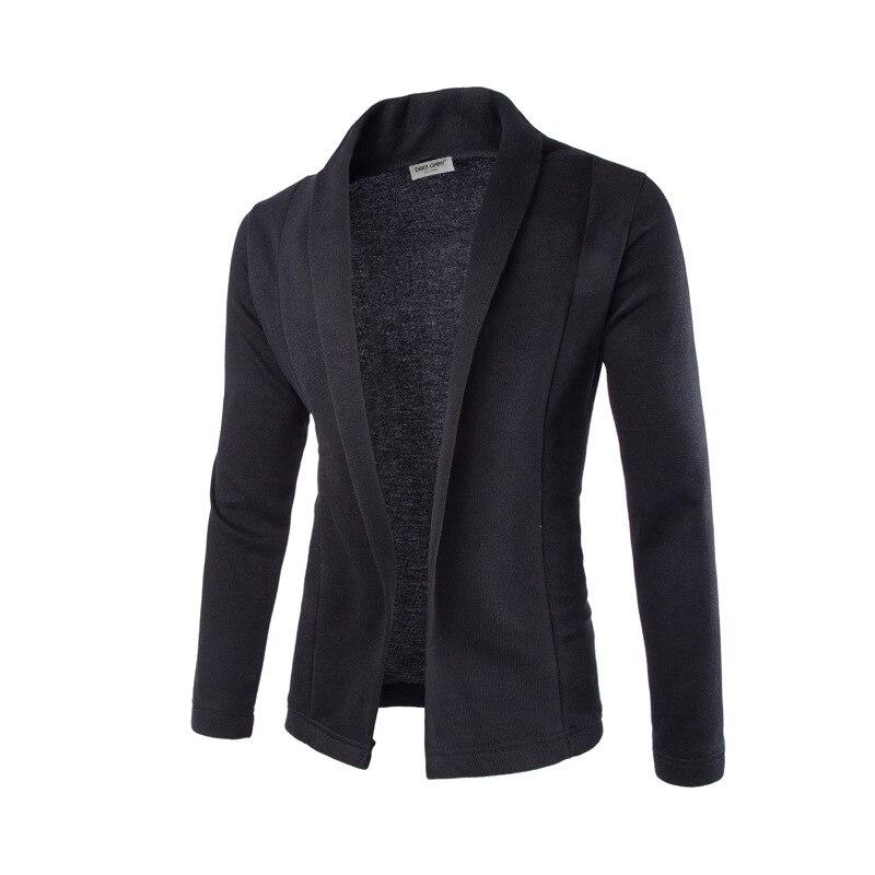 100% QualitäT 2019 Neue Männer Einfache Strickjacke Dünne Strickjacke Mantel Männer V-ausschnitt Pullover Beiläufige Gestrickte Tops Pull Homme De Marque