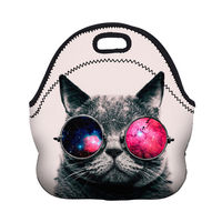 Mayitr Emoji Sushi Cute Cat MacaronThermal Lunch Bag Colorful Designs Travel Lunch BagSchool Work Insulated Lunch