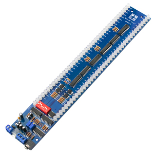 Image 2 - GHXAMP, двойной 40 светодиодный индикатор уровня музыкального спектра, плата аудио MP3, индикатор управления звуком VU измерительный усилитель сабвуфер для автомобиля 5 В