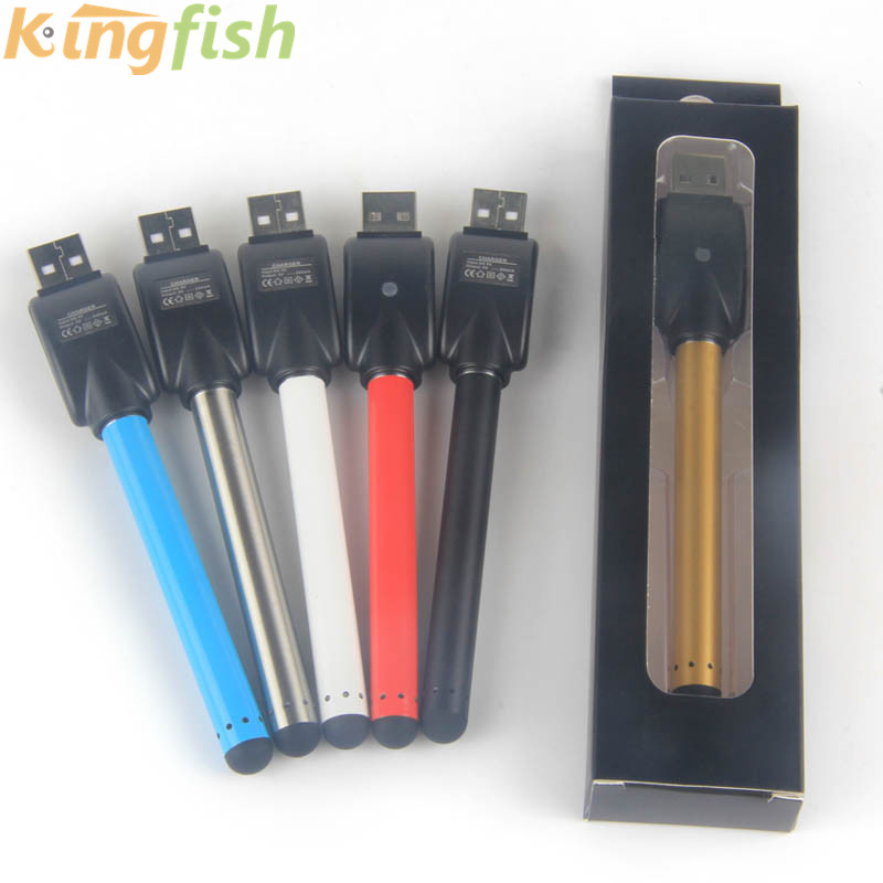 5pcs/lot O Pen Battery Auto 510 Vaporizer Pen O Pen Touch Vape Buttonless Battery With USB Charger For Cbd Oil Cartridge E Cig