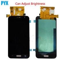 Регулировка яркости для Samsung Galaxy J1 J120 J120F J120M J120H ЖК-дисплей + кодирующий преобразователь сенсорного экрана в сборе
