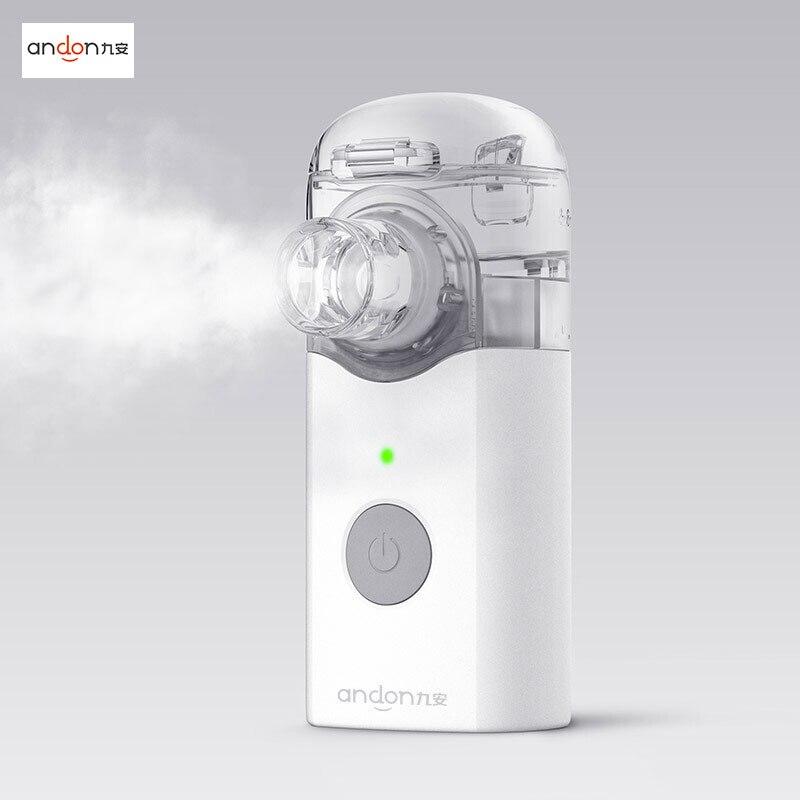Xiaom Mijia Jiuan Andon Portable Micro atomizer Nebulizer Mini Handheld Inhaler Respirator for Children and Adult
