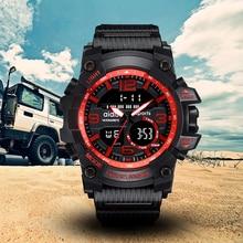 2019 New Brand Addies Mens Watches G Style Waterproof Sports Military Watche Shock Luxury Analog Digital Men