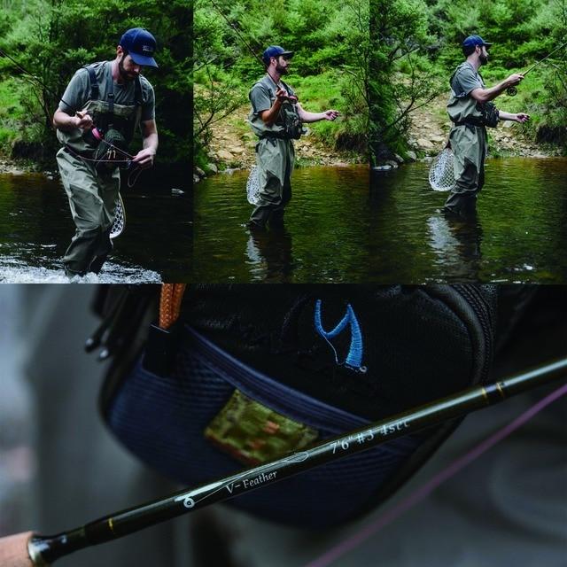 Maximumcatch Maxcatch v-plume mouche canne à pêche et moulinet Kit complet léger petit ruisseau