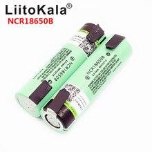 LiitoKala новая Оригинальная NCR18650B 3,7 V 3400mAh 18650 перезаряжаемая литиевая батарея для батареи+ DIY никелевая деталь