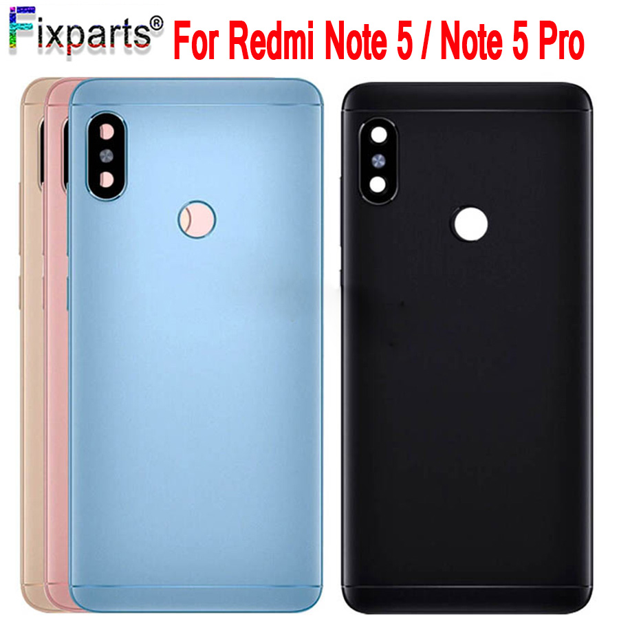Original Xiaomi <font><b>Redmi</b></font> <font><b>note</b></font> <font><b>5</b></font> <font><b>pro</b></font> <font><b>Battery</b></font> Back <font><b>Cover</b></font> Housing Door Case Replacement For Xiaomi <font><b>Redmi</b></font> <font><b>note</b></font> <font><b>5</b></font> <font><b>pro</b></font> <font><b>Battery</b></font> <font><b>Cover</b></font>+Lens image