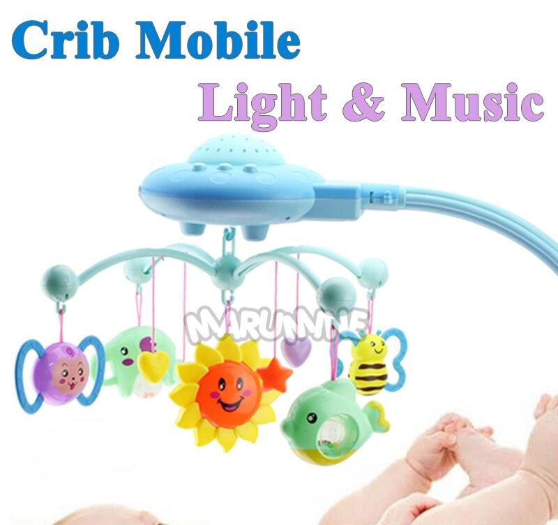 Marumine bebê berço brinquedo móvel com projeção