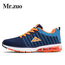 Brand Sneakers Men 2017 Running Shoes  Sports Athletic Air Shoes Professional Sneakers Gym Shoes Jogging shoes big sizes 45-48
